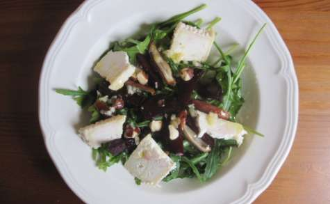 Salade de betteraves rôties