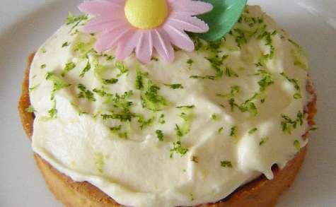La tartelette fleur de citrons {aux 2 citrons et gianduja}