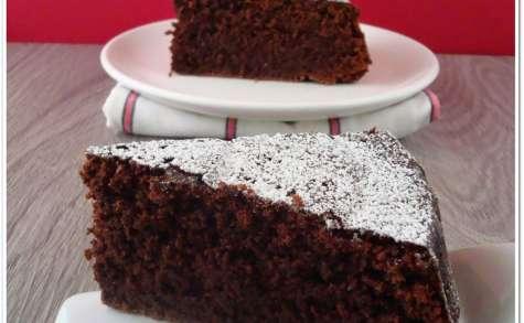 Caprese al cioccolato Gâteau au chocolat italien sans gluten