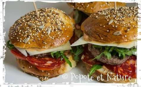 Hamburgers maison