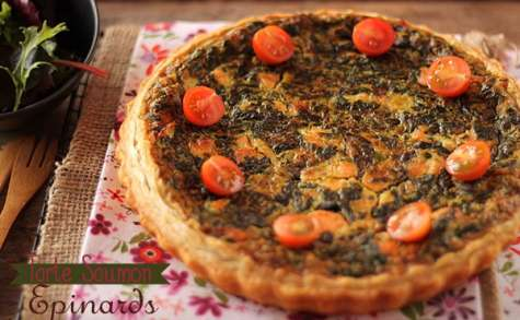 Tarte Saumon Epinards