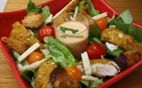 Salade César (et sa sauce)