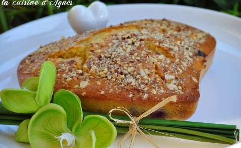clafoutis abricot cerise lait de coco amande