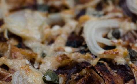 Pizza à la japonaise