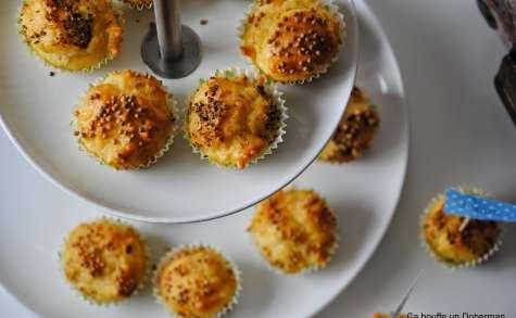 Muffins aux graines de moutarde et poivre-citron