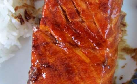 Teriyaki de saumon