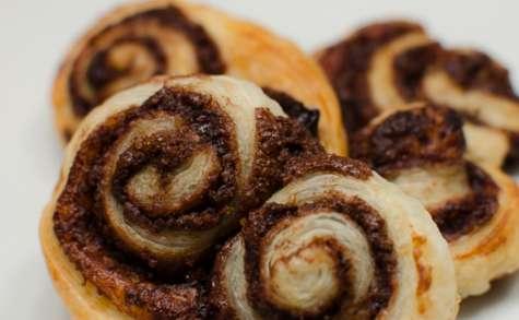 Palmiers au Nutella