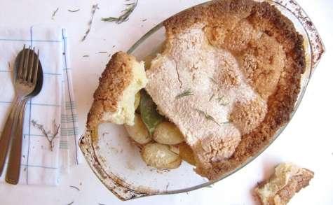 Pommes de terre en croute de sel