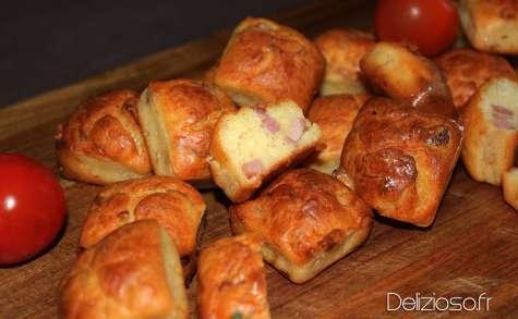 Mini Cakes lardons oignons