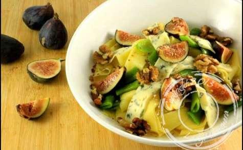 Salade de pappardelles d'automne