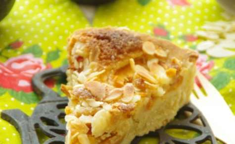 Bakewell tart aux abricots