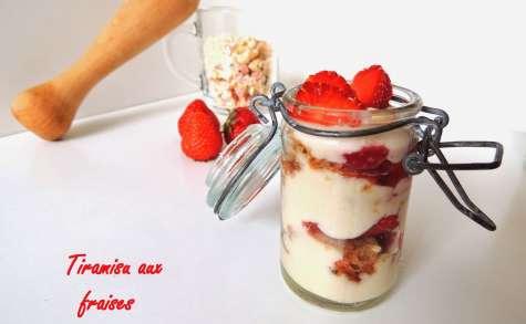 Tiramisu express aux fraises