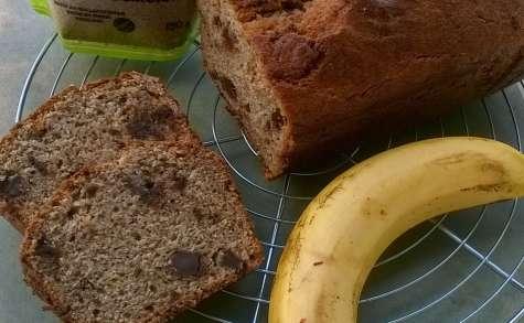 Banana bread au son de blé