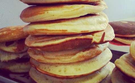 Pancakes gonflés à souhait