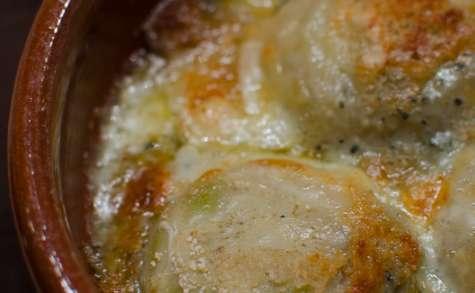 Gratin d'artichaut aux 2 fromages