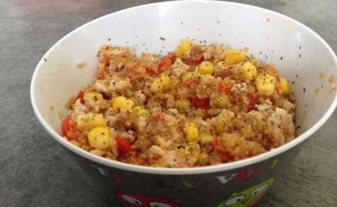 Salade de quinoa au thon