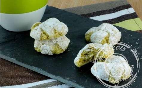 Amaretti aux amandes et pistaches