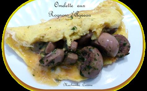 Petites omelettes aux rognons d'agneau