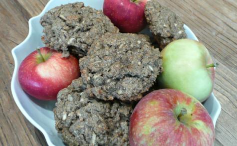 Biscuits avoine et pomme ou presque
