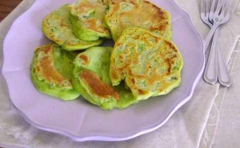 Pancakes aux pois cassés et sarriette
