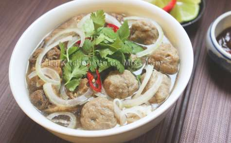 Boulettes de boeuf vietnamiennes