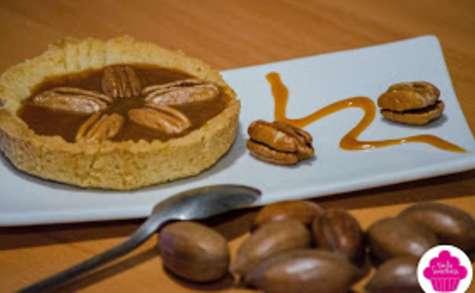 Tartelettes noix de pécan et caramel au beurre salé