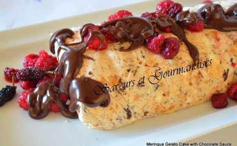 Gâteau de meringue glacé
