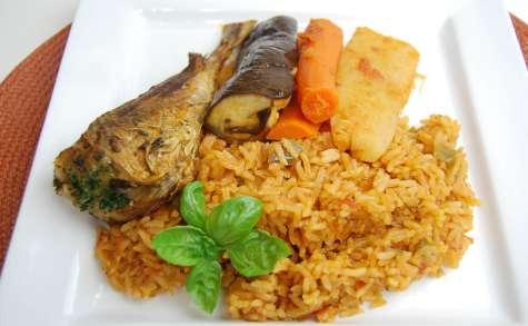 Riz au gras /Thieboudienne (Afrique de l'Ouest)