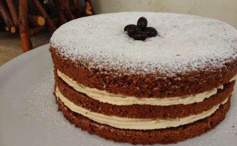 Gâteau aux noix et au mascarpone