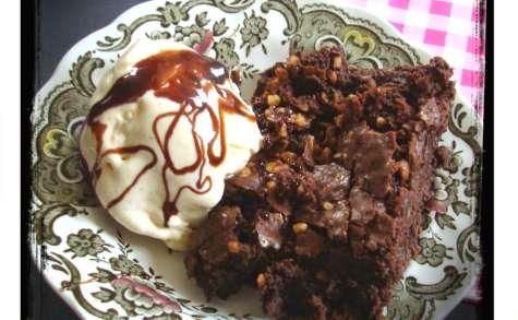 Brownies aux éclats de nougatine