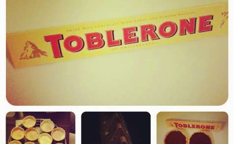 Tartelettes au Toblerone