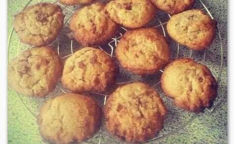 Cookies Milka et Noix de coco