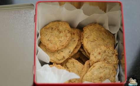 Cookies aux amandes caramélisées
