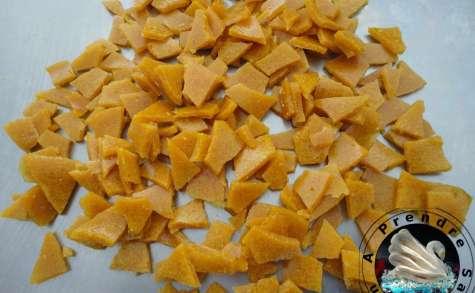 Caramels croustillants