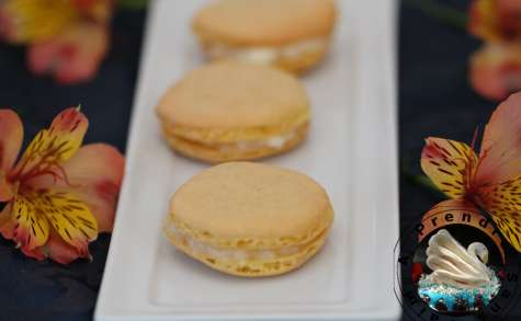 Macarons au chèvre et au miel