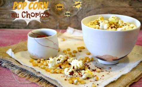 Pop corn au chorizo du Chef Etchebest