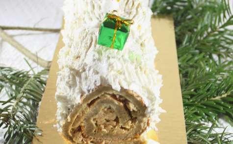 Bûche de Noël salée