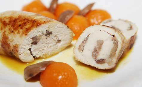 Ballotine de dinde aux marrons