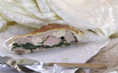 Tourte de canard au foie gras