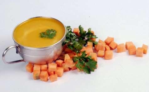 Soupe detox ayurvédique, aux haricots mungo, épicée