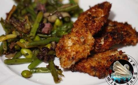 Escalopes de poulet croustillantes ou nuggets maison