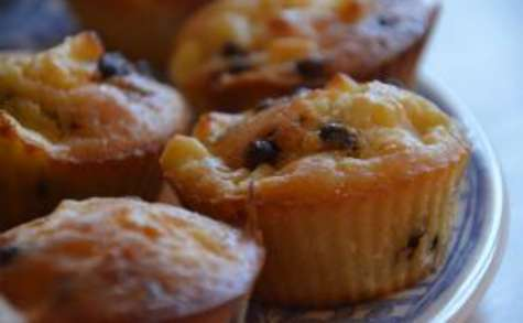 Muffins pomme chocolat