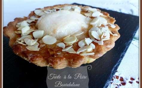 Tartelettes Poires Bourdaloue