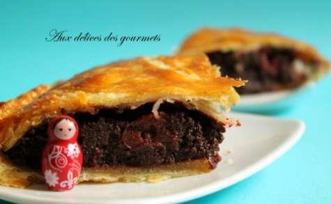 galette chocolat griottes