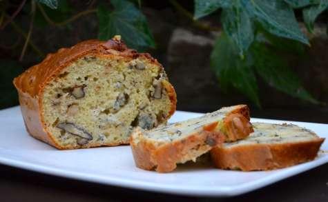 Cake aux noix et Roquefort