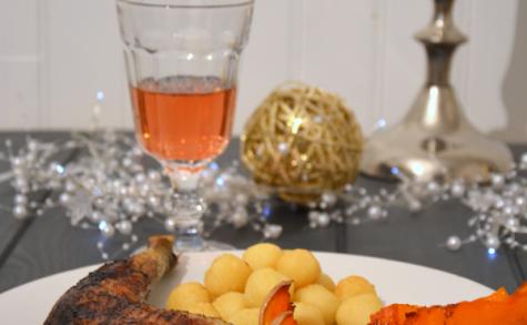 Poulet aux épices de Noël