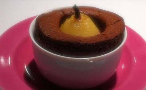 Petit gâteau Belle-Hèlène