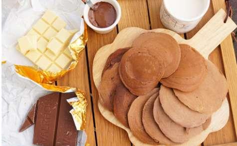 Pancakes au chocolat