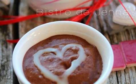 Mousse légère au chocolat et gingembre confit