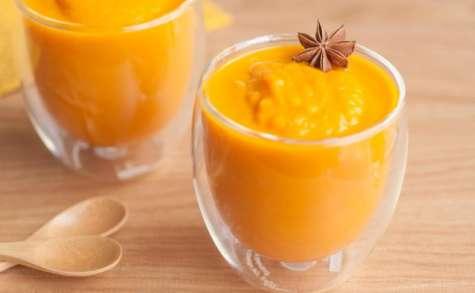 Soupe de carottes à l'anis